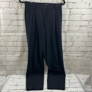 Vintage joie di vivre high waist pleated pants